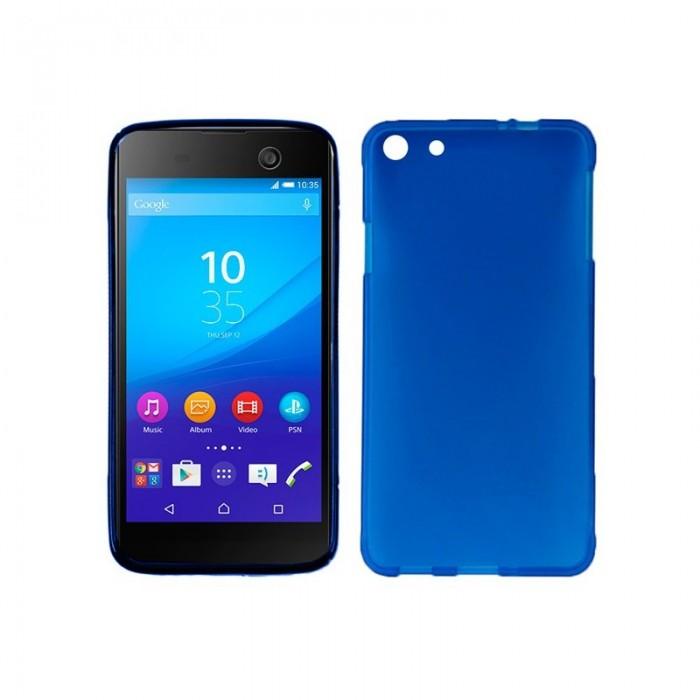 Funda Silicona Sony Xperia M5 (Azul)