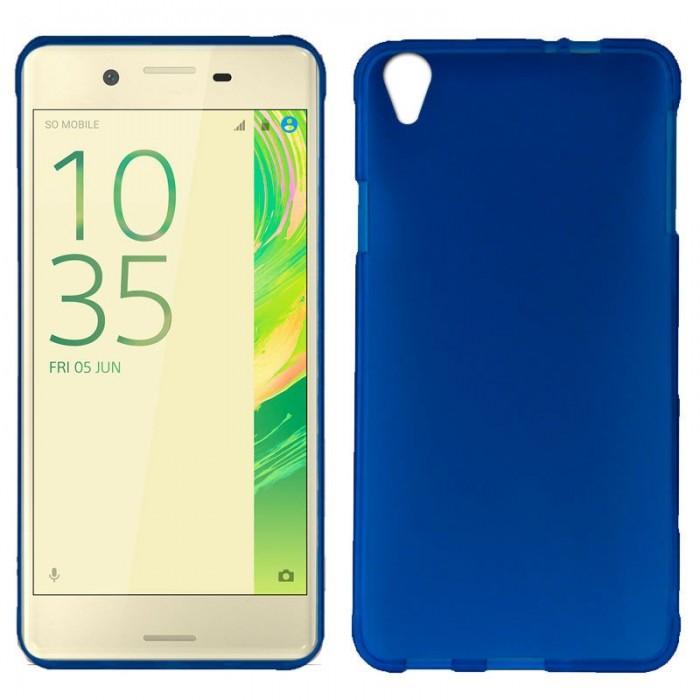 Funda Silicona Sony Xperia X (Azul)