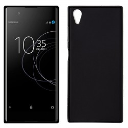 Funda Silicona Sony Xperia XA1 Plus (Negro)