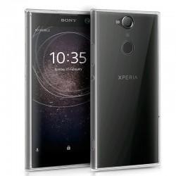 Funda Silicona Sony Xperia XA2 (Transparente)