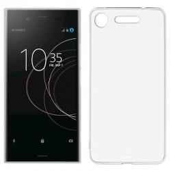 Funda Silicona Sony Xperia XZ1 (Transparente)