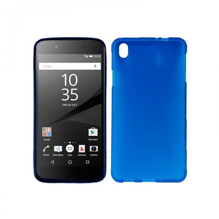 Funda Silicona Sony Xperia Z5 (Azul)