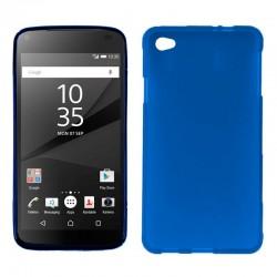 Funda Silicona Sony Xperia Z5 Compact (Azul)