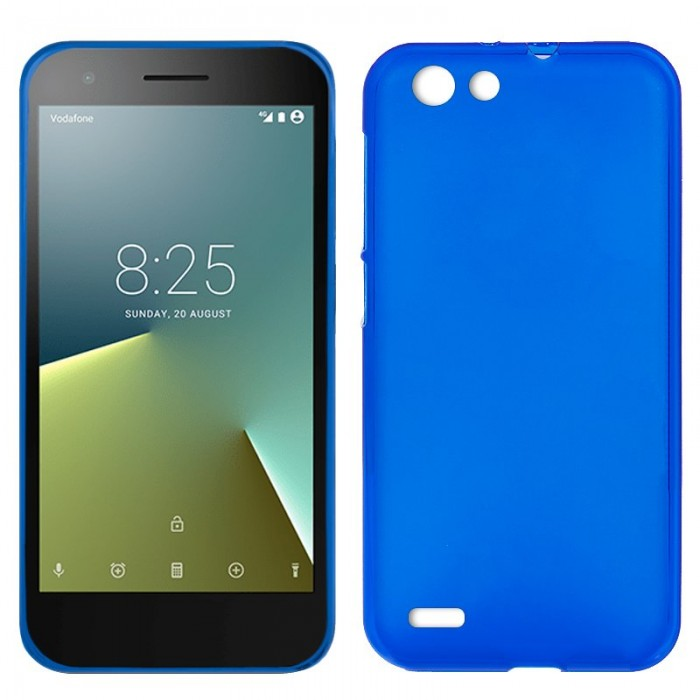 Funda Silicona Vodafone Smart E8 (Azul)