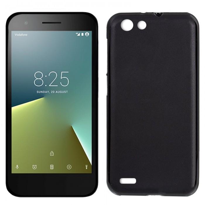 Funda Silicona Vodafone Smart E8 (Negro)