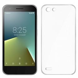 Funda Silicona Vodafone Smart E8 (Transparente)