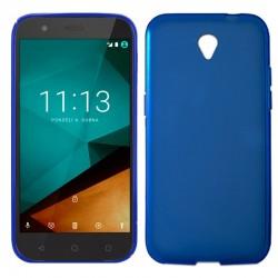 Funda Silicona Vodafone Smart Prime 7 (Azul)