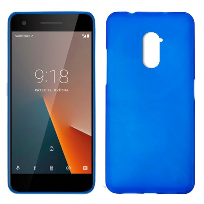 Funda Silicona Vodafone Smart V8 (Azul)
