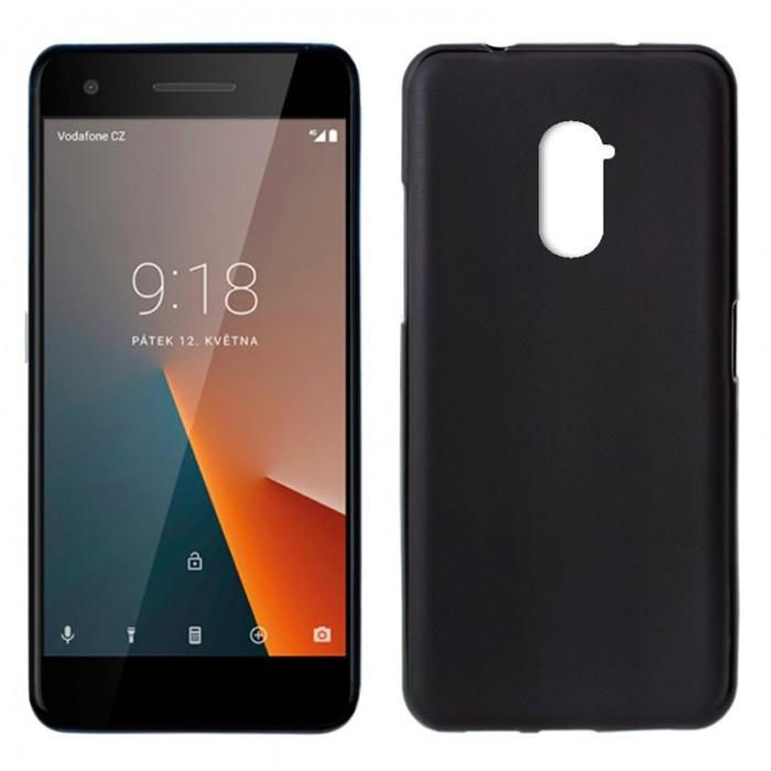 Funda Silicona Vodafone Smart V8 (Negro)