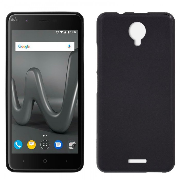 Funda Silicona Wiko Harry (Negro)
