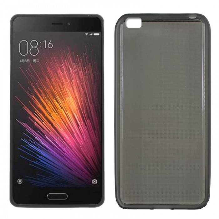 Funda Silicona Xiaomi Mi 5 (Negro)