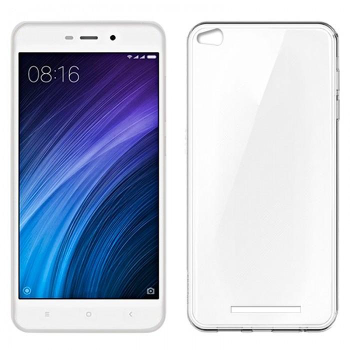 Funda Silicona Xiaomi Redmi 4A (Transparente)