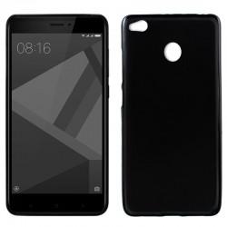 Funda Silicona Xiaomi Redmi 4X / 4X Pro (Negro)