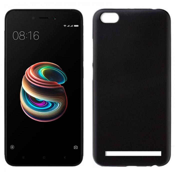 Funda Silicona Xiaomi Redmi 5A (Negro)