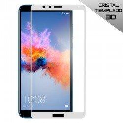 Protector Pantalla Cristal Templado Huawei Honor 7X (3D Blanco)