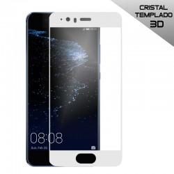 Protector Pantalla Cristal Templado Huawei P10 Plus (3D Blanco)