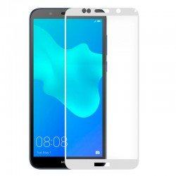 Protector Pantalla Cristal Templado Huawei Y5 (2018) / Honor 7S (3D Blanco)
