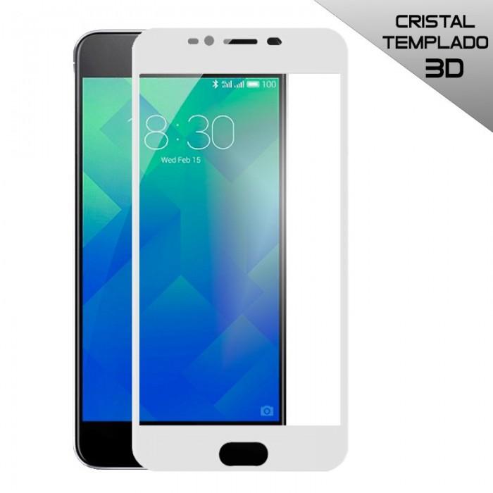 Protector Pantalla Cristal Templado Meizu M5s (3D) Blanco