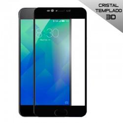 Protector Pantalla Cristal Templado Meizu M5s (3D) Negro