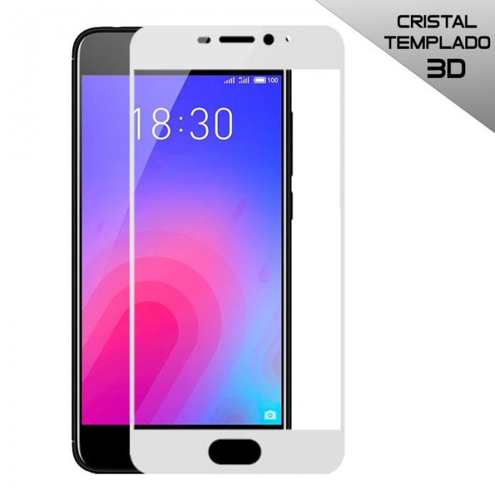 Protector Pantalla Cristal Templado Meizu M6 (3D) Blanco