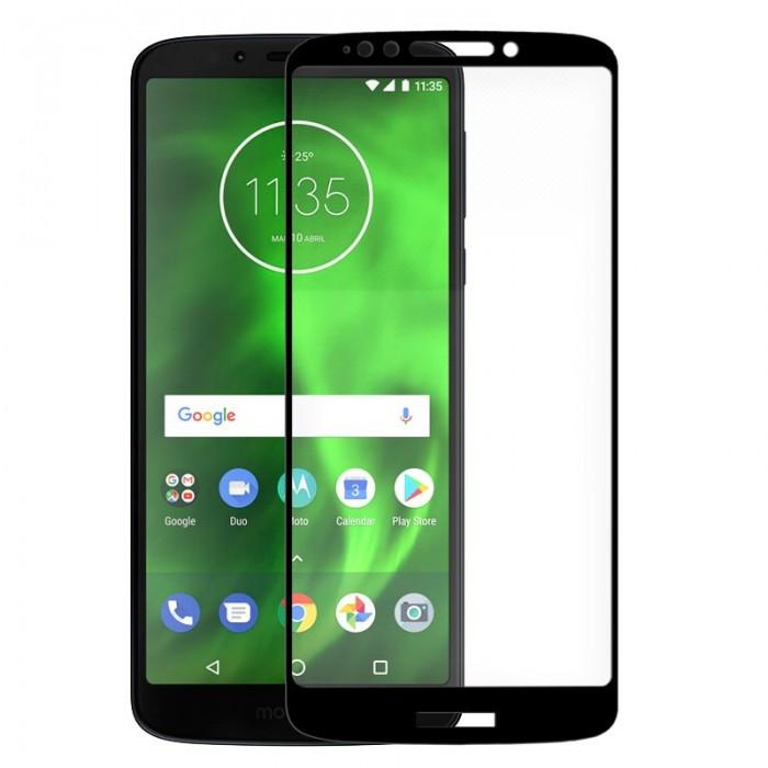 Protector Pantalla Cristal Templado Motorola Moto G6 Play / Moto E5 (3D Negro)