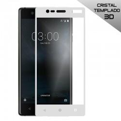 Protector Pantalla Cristal Templado Nokia 3 (3D Blanco)