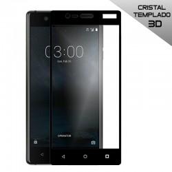 Protector Pantalla Cristal Templado Nokia 3 (3D Negro)