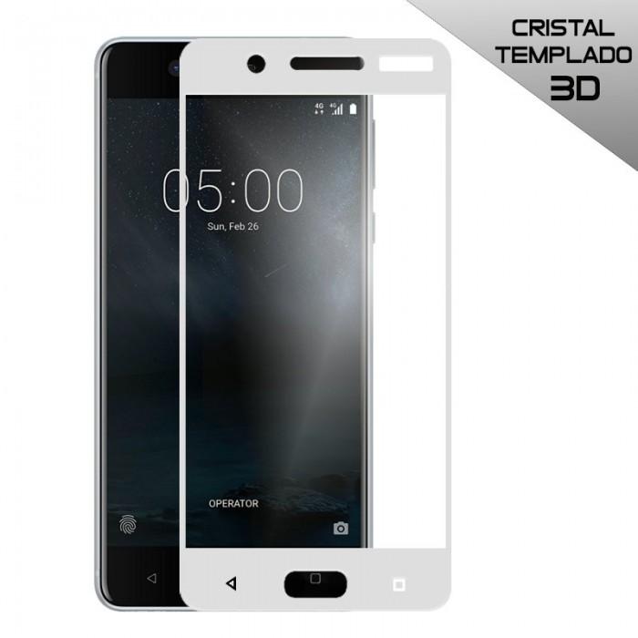 Protector Pantalla Cristal Templado Nokia 5 (3D Blanco)