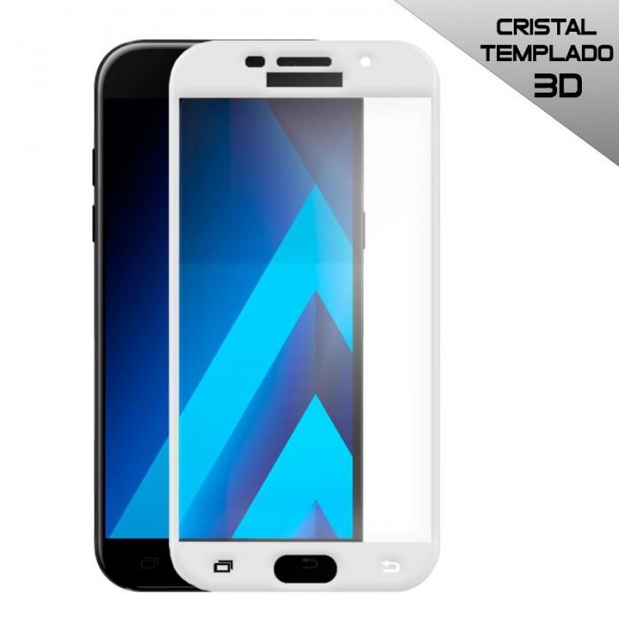 Protector Pantalla Cristal Templado Samsung A520 Galaxy A5 (2017) 3D Blanco
