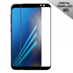 Protector Pantalla Cristal Templado Samsung A530 Galaxy A8 (2018) (FULL 3D Negro)
