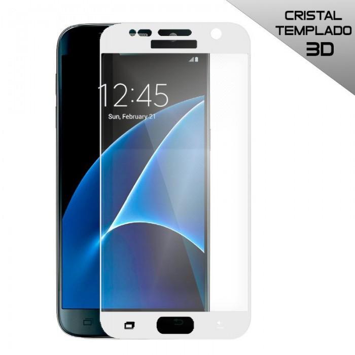 Protector Pantalla Cristal Templado Samsung G930 Galaxy S7 (3D Blanco)