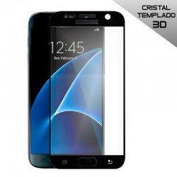 Protector Pantalla Cristal Templado Samsung G930 Galaxy S7 (3D Negro)