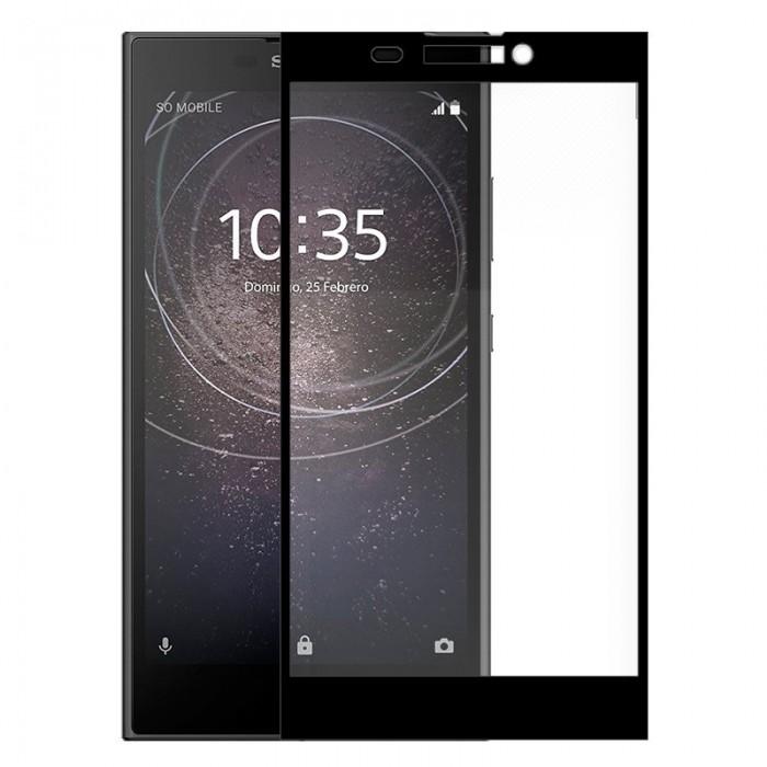 Protector Pantalla Cristal Templado Sony Xperia L2 (3D Negro)