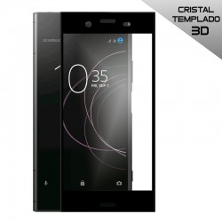 Protector Pantalla Cristal Templado Sony Xperia XZ1 (3D Negro)