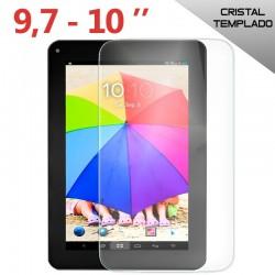 Protector Pantalla Cristal Templado Universal Tablet 9.7 - 10.1 pulg (24,3 x 16,2 cm)