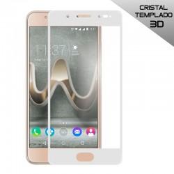 Protector Pantalla Cristal Templado Wiko U Feel Prime (3D Blanco)