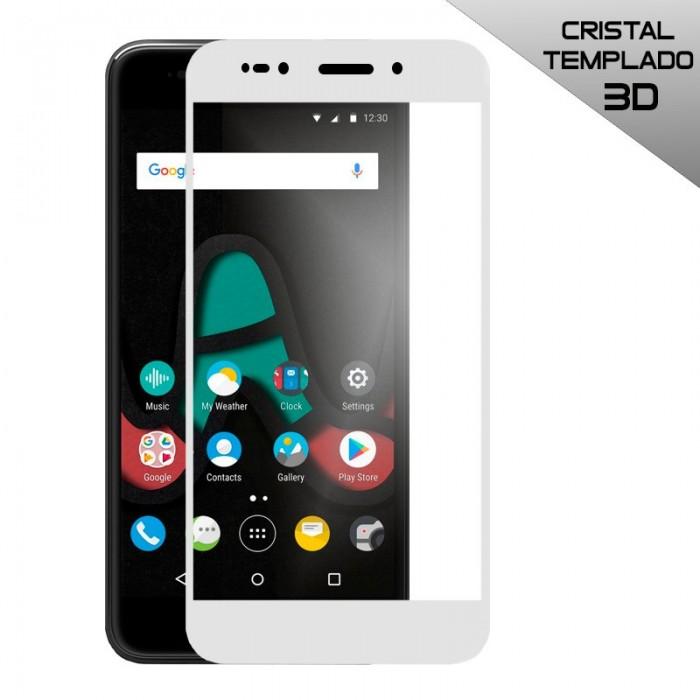 Protector Pantalla Cristal Templado Wiko U Pulse (3D Blanco)