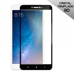 Protector Pantalla Cristal Templado Xiaomi Mi Max 2 (3D Negro)