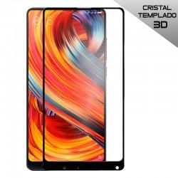 Protector Pantalla Cristal Templado Xiaomi Mi Mix 2 / Mi Mix 2S (3D Negro)