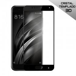 Protector Pantalla Cristal Templado Xiaomi Mi 6 (3D Negro)