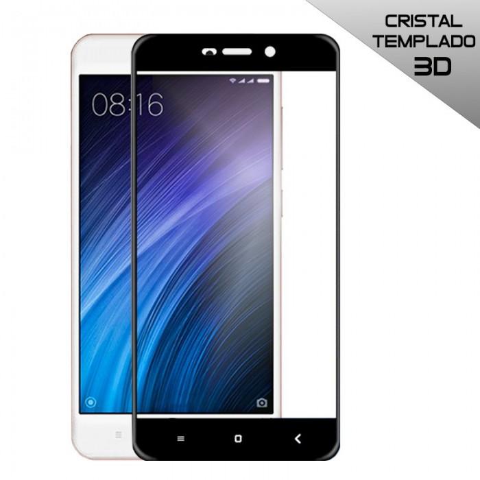 Protector Pantalla Cristal Templado Xiaomi Redmi 4A (3D Negro)