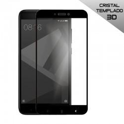Protector Pantalla Cristal Templado Xiaomi Redmi 4X (FULL 3D Negro)