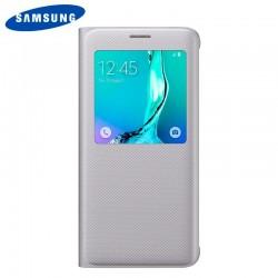 Funda Original Samsung G928F Galaxy S6 Edge Plus Plata (Con Blister)