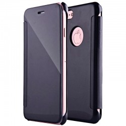 Funda Flip Cover iPhone 7 / iPhone 8 Clear View Negro