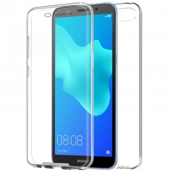 Funda Silicona 3D Huawei Y5 (2018) / Honor 7S (Transparente Frontal + Trasera)