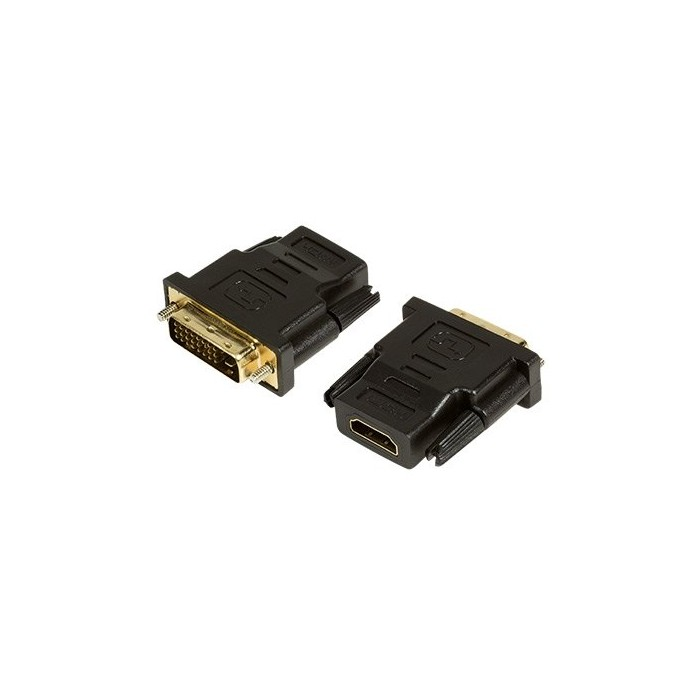 ADAPTADOR HDMI(H) A DVI-D(M) LOGILINK