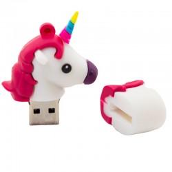 Pen Drive USB x32 GB Silicona Unicornio