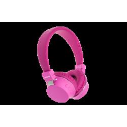 DENVER BTH205P Rosa Bluetooth - Auricular Diadema