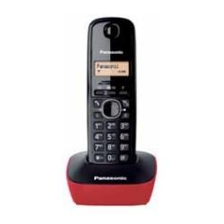PANASONIC KXTG1611SPR Rojo - Teléfono Inalámbrico