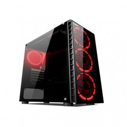 TORRE ATX RAMPAGE EVEREST REDSKY NEGRO LATERAL TRANSPARENTE